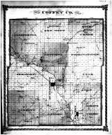Coffey County Map, Coffey County 1878